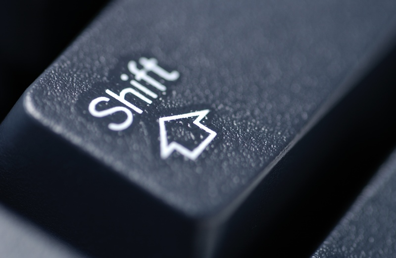 Shortcuts using Shift Key on Web Browsers